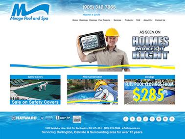 Mirage Pool Services Inc.