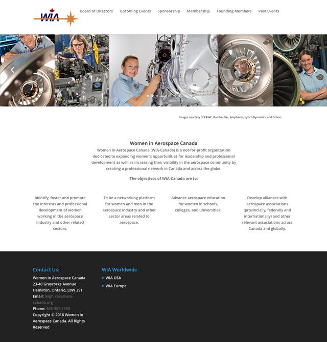 WIA-Canada : Women in Aerospace Canada