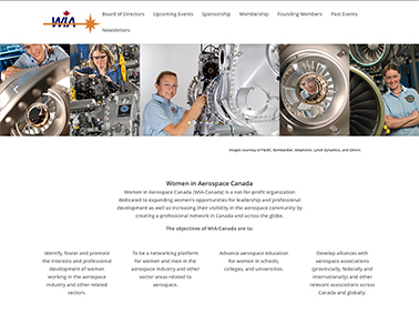 WIA Canada : Women in Aerospace Canada